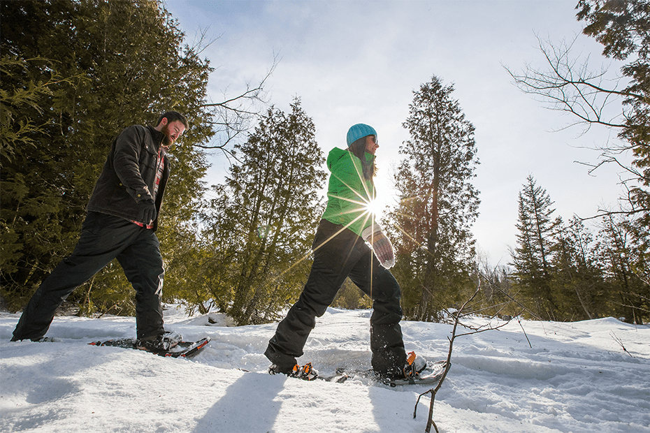 Beginner-Friendly-Snowshoeing-Trails