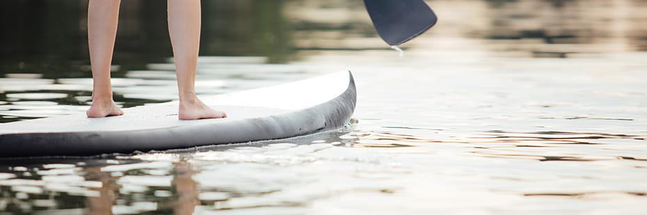 SUP-on-lake