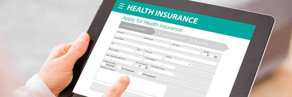 health-insurance-application-on-tablet