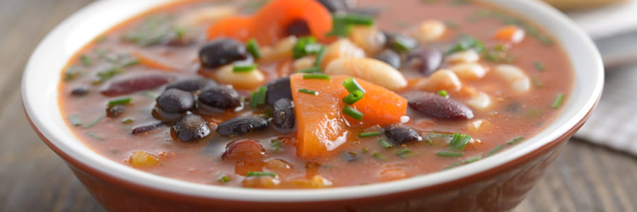 three-bean-soup-on-a-rustic-table