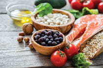healthy foods in restraunts