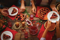 table-full-of-holiday-food