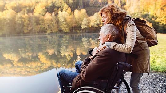 husband-and-wife-by-lake