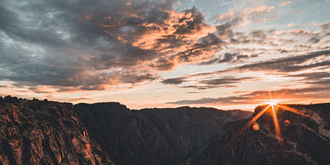 BlackCanyonSunrise