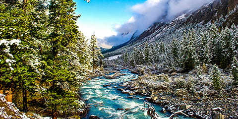 WinterMountainRiver